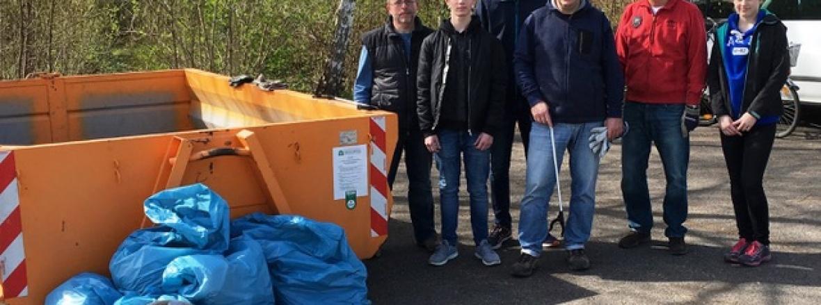 Müllsammelaktion_weilerfeld