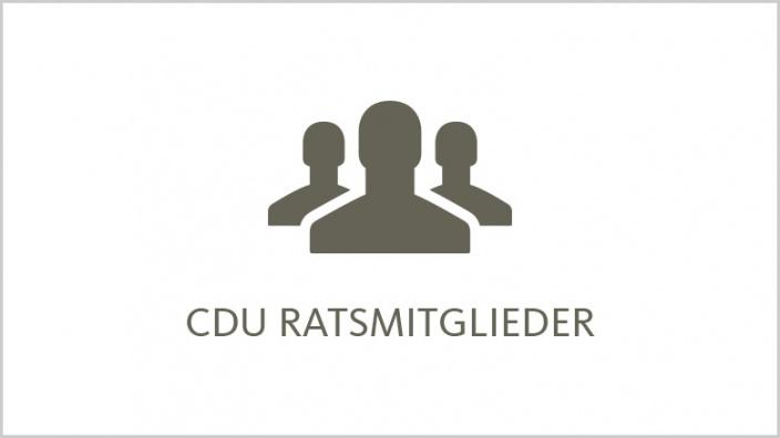 CDU Ratsmitglieder