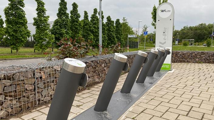 CDU-Rheinbach begrüßt neue E-Bike Station am Römerkanal