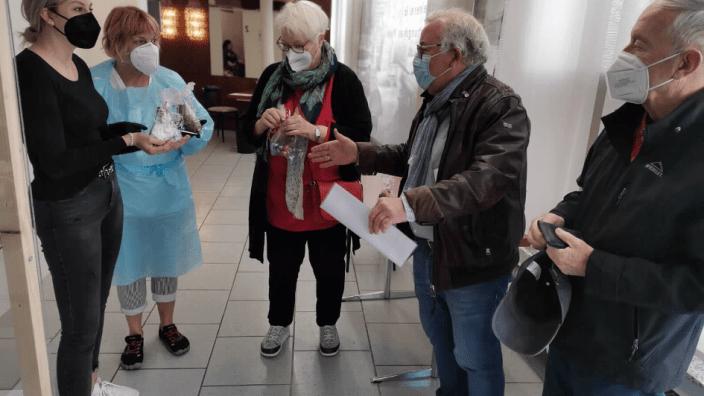 Frauenunion und Seniorenunion bedanken sich für innerstädtisches Testzentrum
